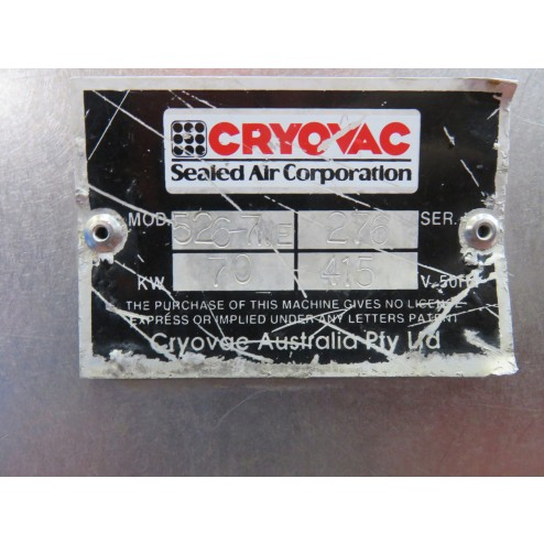 Cryovac 526-7WE Shrink Tunnel