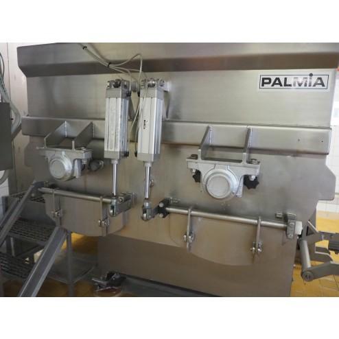PALMIA 3000L Double Shaft Spiral Ribbon Mixer