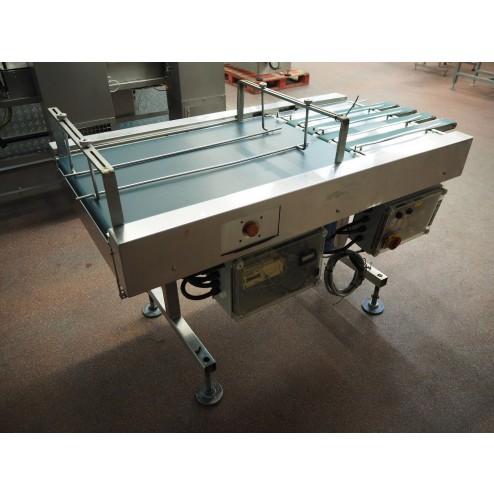 Stainless Steel Converging Conveyor (4x 63 mm)