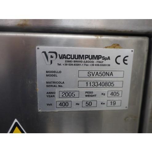 Vacuum Pump SpA SVA50NA Automatic Hot Water Dip Tank