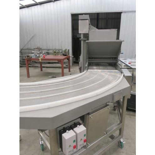 PACIFIC 600mm 90 Degree Wire Belt Conveyor