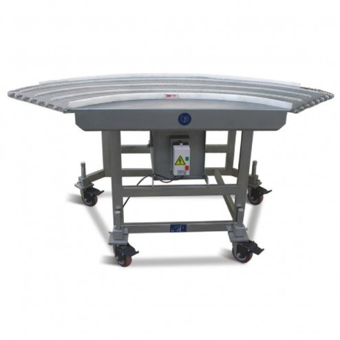 PACIFIC 600mm 90 Degree Wire Belt Conveyor