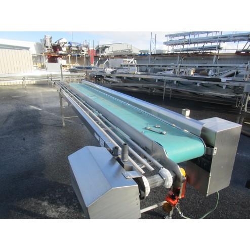 Used conveyor [C24] -  340 mm x 3100 mm