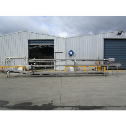 Used conveyor [C25] -  3 Level Conveyor - 355 mm x 6100/7500/8300 mm