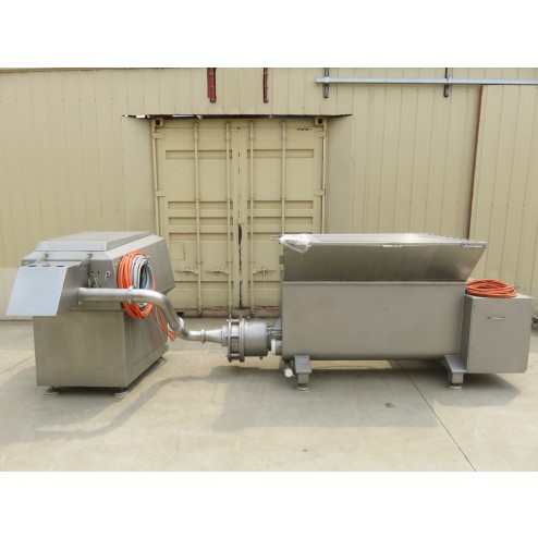 Wolfking Contiflow Screw Pump and PG225 Pump Grinder with Gristle Removal