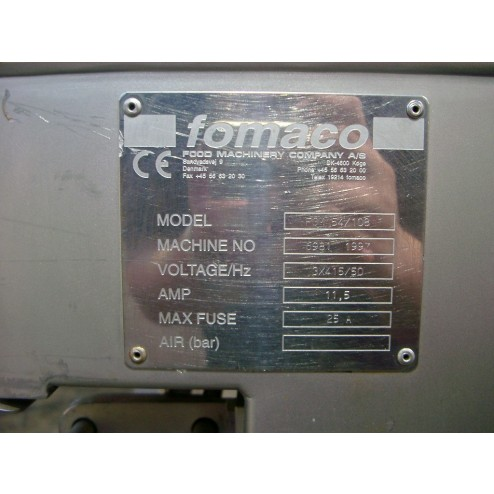 FOMACO FGM 54 108 pickle injector