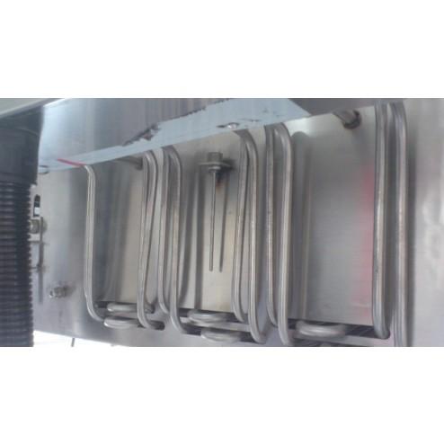PACIFIC 400mm x 5.5m Continuous Fryer - Electric