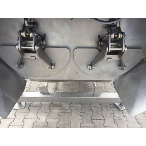 Scansteel 1700L Twin Shaft Paddle Mixer