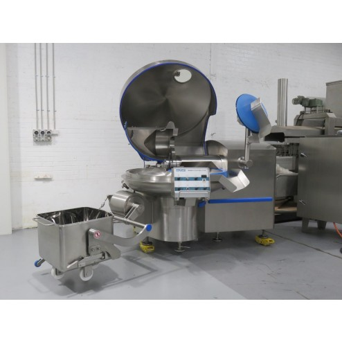 PACIFIC 200L Vacuum Bowl Cutter with Unloader