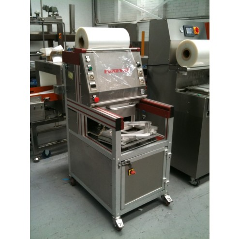 FOOD VAC Twin Tray Gas Flushing Packing Machine