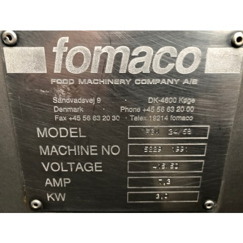 Fomaco FGM 34-68 Brine Injector