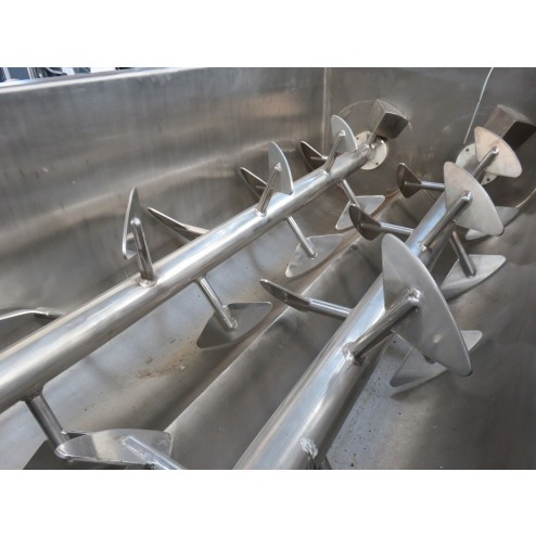 Iozzelli 750L Mixer Mincer with OBS Tub Lifter