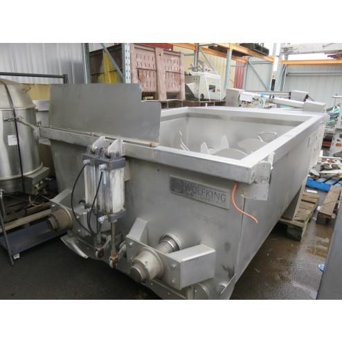 Wolfking 2750L Twin Shaft Mixer, TSM 2750