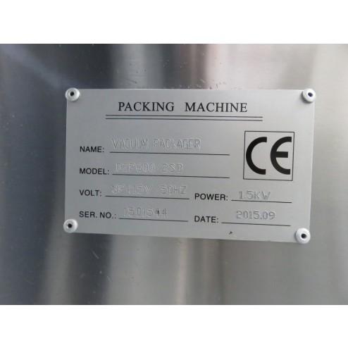 DZP600/2SB Swing Lid Vacuum Packer