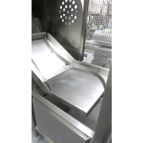 LASKA - Guillotine Frozen Meat Cutter