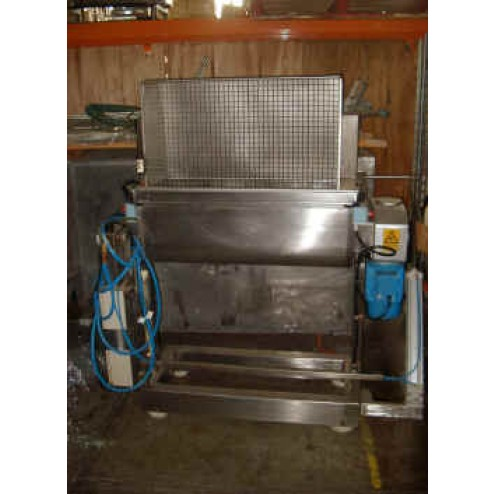 VELATI 300L  Twin Paddle Stainless Steel Mixer with Tilting Capability