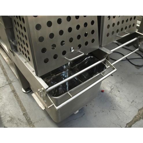 PACIFIC MP2000 Paddle Ribbon Mixer