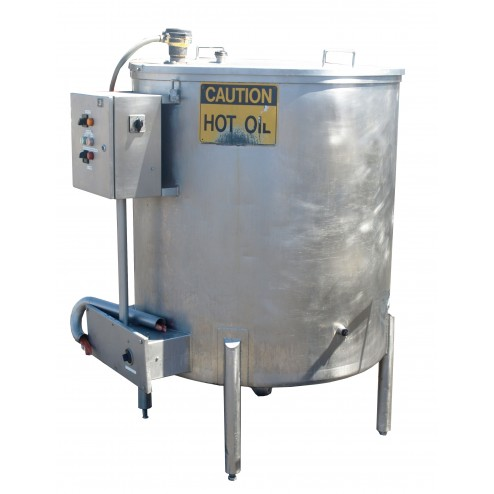 600L Stainless Steel Oil Heating Tank