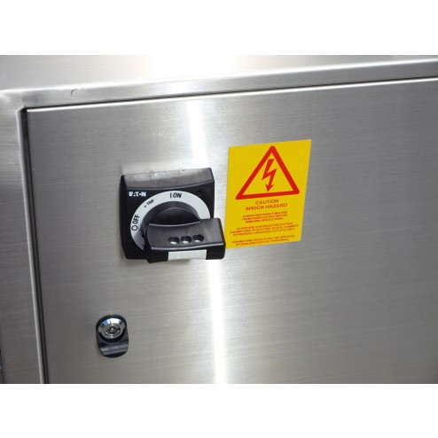 PACIFIC Automatic Conveyorised Hot Water Dip Tank