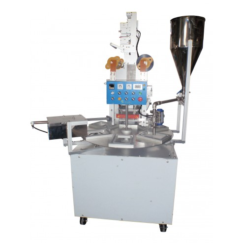PACIFIC Automatic Rotary Cup and Tray Sealer