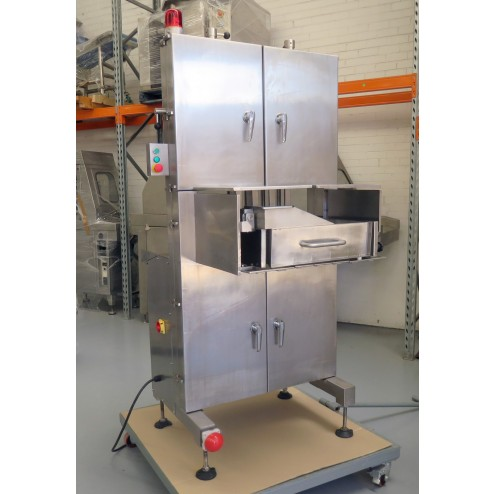 Used PACIFIC Y1000A Stainless Steel 4 Blade Bandsaw - 100mm