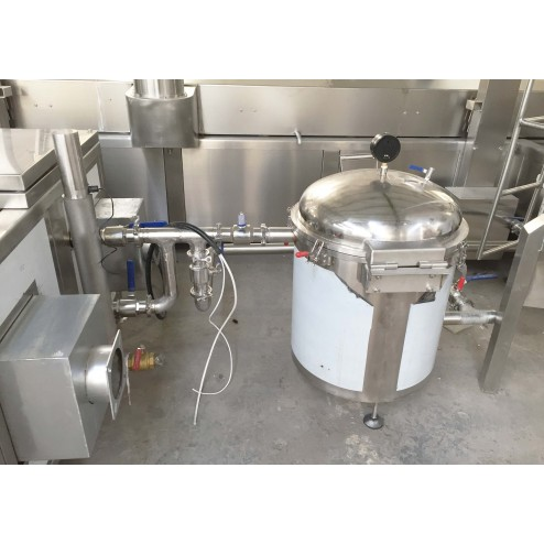 PACIFIC 400mm 4.5M Continuous Fryer with Sediment Removal
