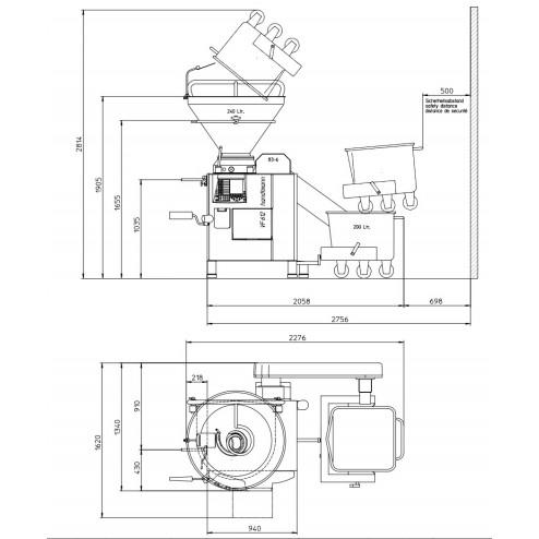 Handtmann VF-612K Vacuum FIller