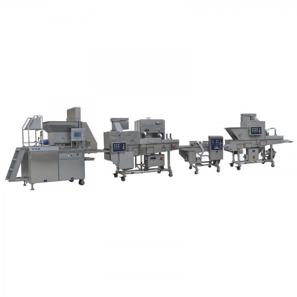 PACIFIC Chicken Nugget Production Line (Large Scale