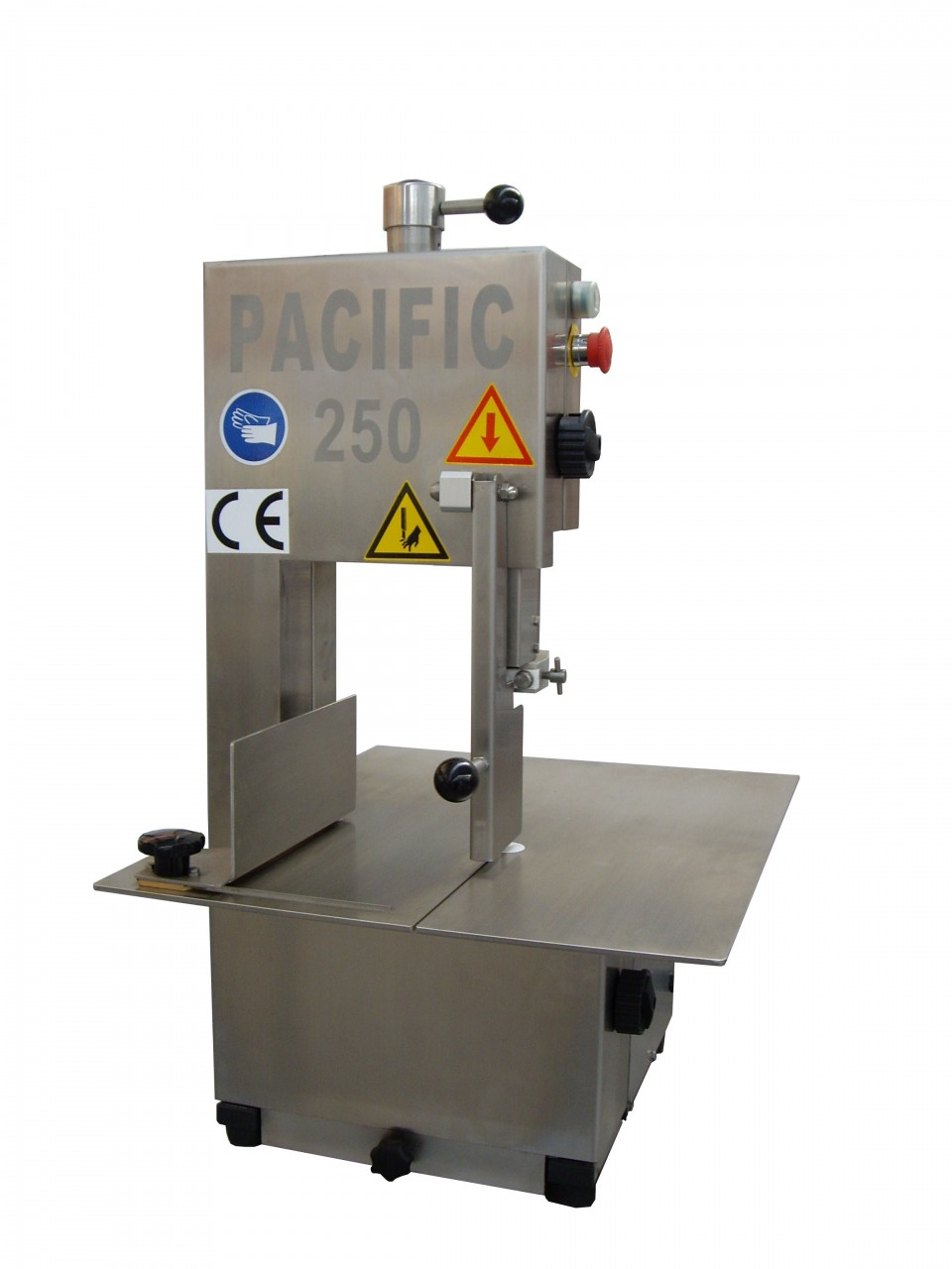 Pacific Y250 Stainless Steel Table Bench Top Bandsaw Pacific Food Machinery