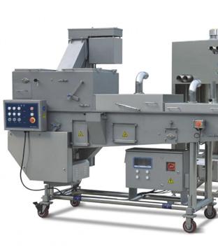 predusting machine