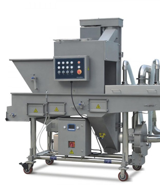 crumbing machine