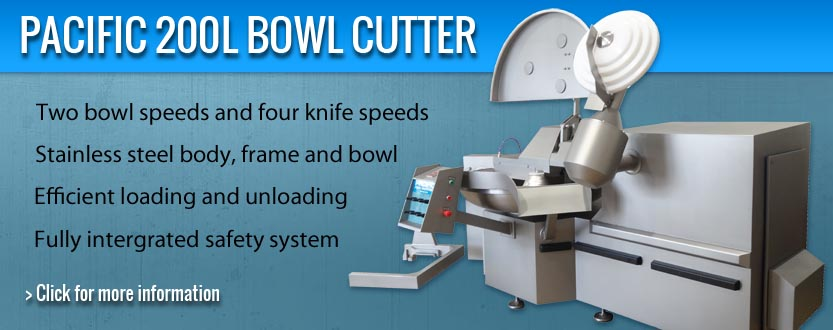 Pacific 200L Bowl cutter