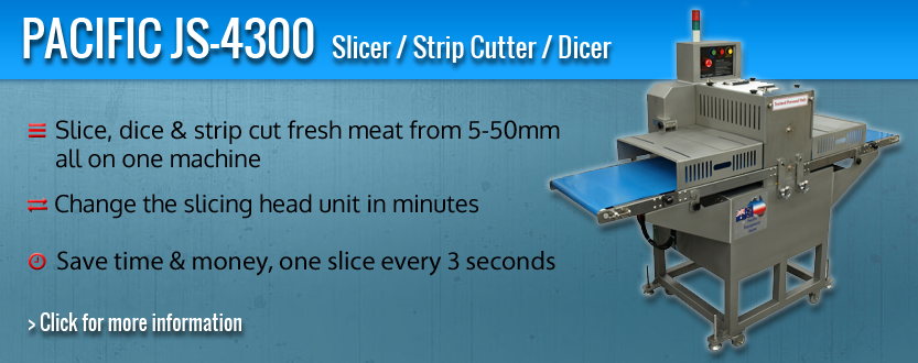 Pacific JS-4300 Slicer, Strip Cutter & Dicer